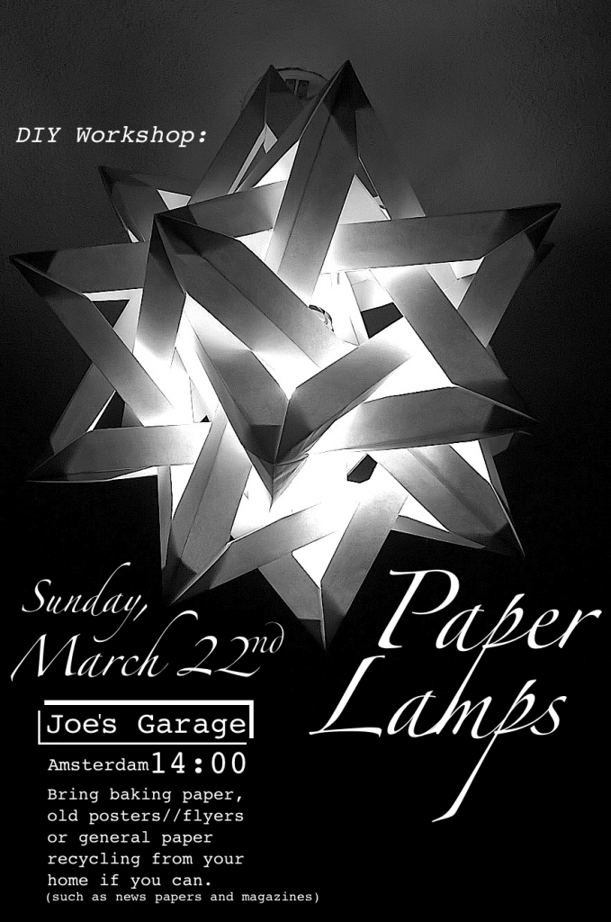 paperlamps poster